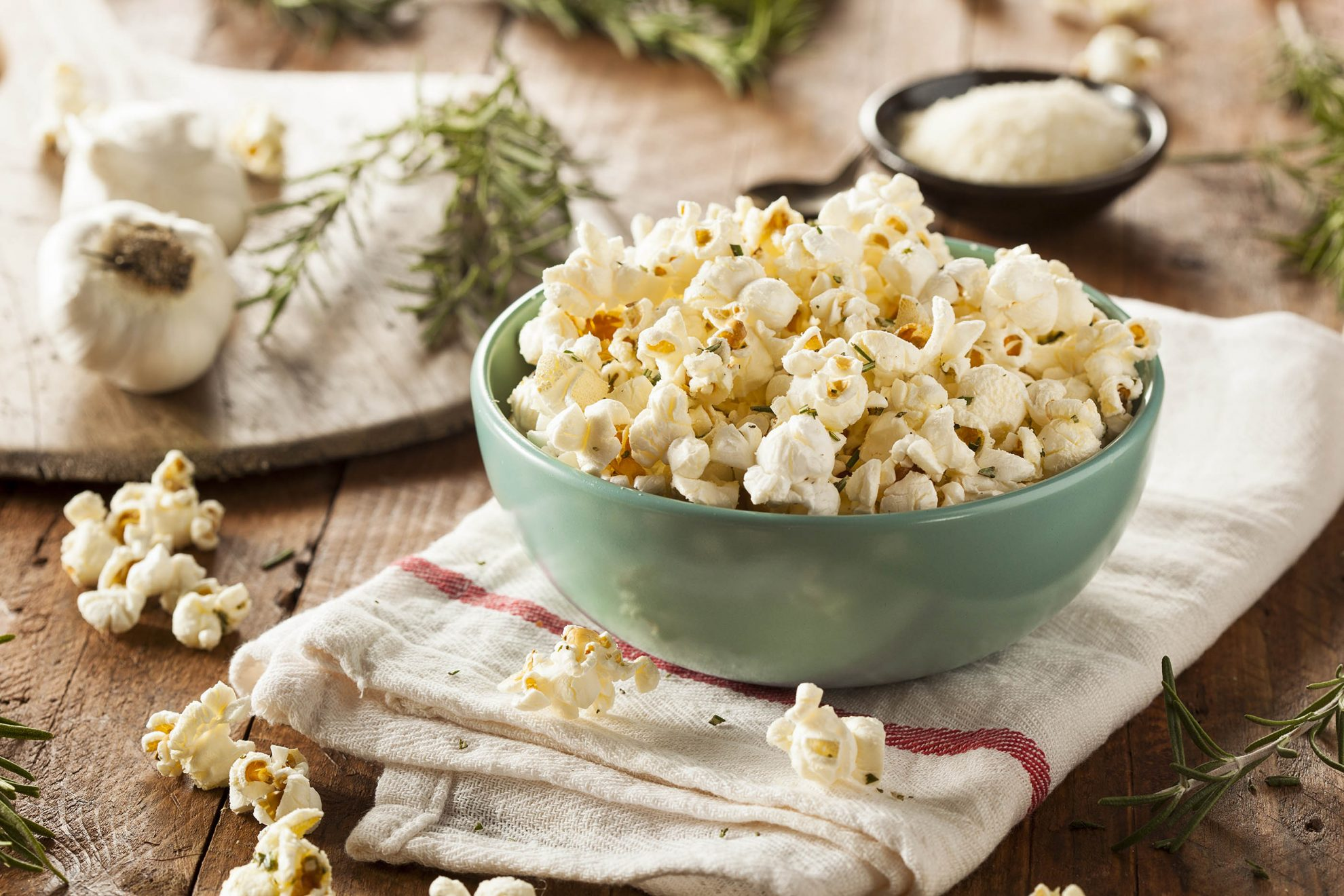 Porcini Powder Popcorn